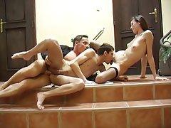 Bisexuel, Groupe de trois