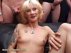 Group Sex, German, Bukkake, Orgy