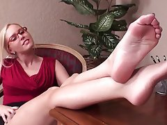 Handjob, Cumshot, Foot Fetish