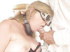 Blonde, Blowjob, BDSM, MILF