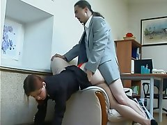 Anal, Redhead, Russian, Stockings
