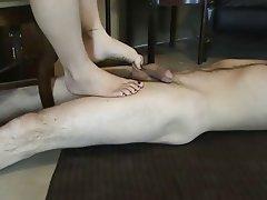 Amatriçe, Femme dominatrice, Fétichisme des pieds
