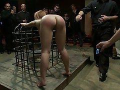 BDSM, Blonde, Bondage, Rough