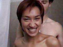 Amateur, Asian, Blowjob, Brunette
