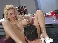 Blowjob, Big Boobs, Blonde