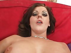 Big Boobs, Brunette, Cumshot, Interracial