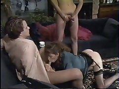 Ejac, Hardcore, Star du porno, Groupe de trois