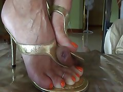 Amateur, Cumshot, Foot Fetish