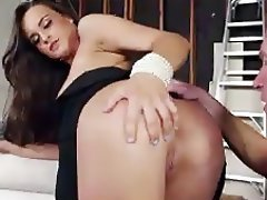 Babe, Brunette, Cumshot, Hardcore